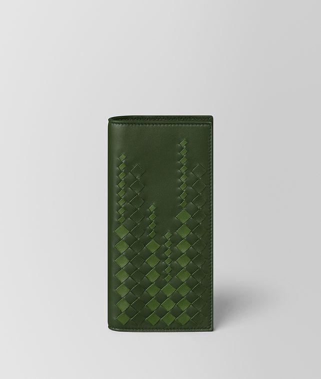 BOTTEGA VENETA FOREST/FERN NAPPA CONTINENTAL WALLET Continental Wallet [*** pickupInStoreShippingNotGuaranteed_info ***] fp