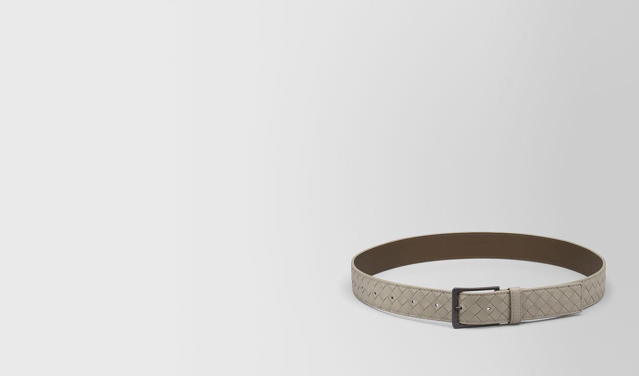 dark cement intrecciato vn belt landing