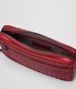 BOTTEGA VENETA CHINA RED INTRECCIATO CALF SMALL CITYDOC Document case Man dp