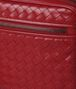 BOTTEGA VENETA CHINA RED INTRECCIATO CALF SMALL CITYDOC Document case Man ep