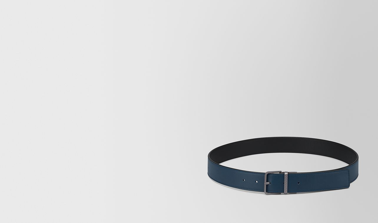nero/denim calf belt landing