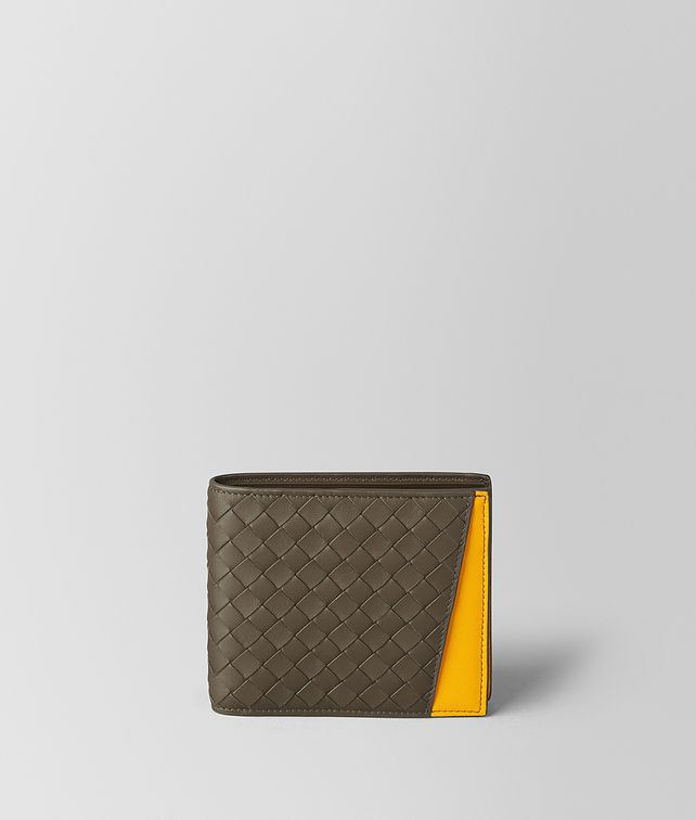 BOTTEGA VENETA STEEL/SUNSET INTRECCIATO NAPPA MULTI-FUNCTIONAL CASE Bi-fold Wallet Man fp