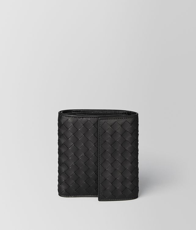 BOTTEGA VENETA NERO INTRECCIATO NAPPA MINI WALLET Mini Wallet [*** pickupInStoreShipping_info ***] fp