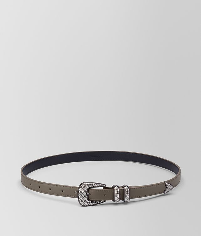 BOTTEGA VENETA STEEL CALF BELT Belt Man fp