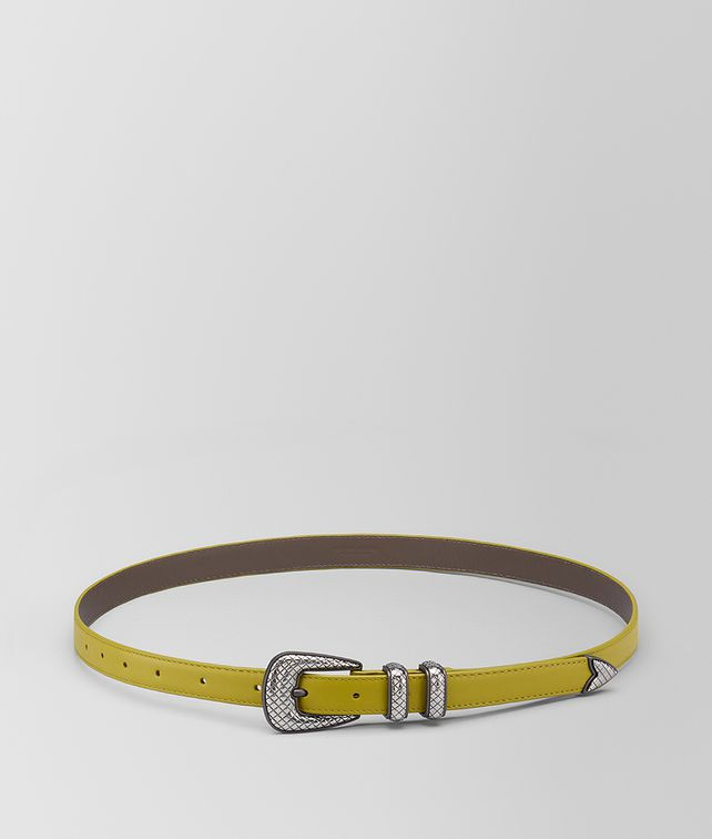 BOTTEGA VENETA CHAMOMILE CALF BELT Belt [*** pickupInStoreShippingNotGuaranteed_info ***] fp