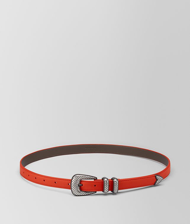 BOTTEGA VENETA TERRACOTTA CALF BELT Belt Man fp