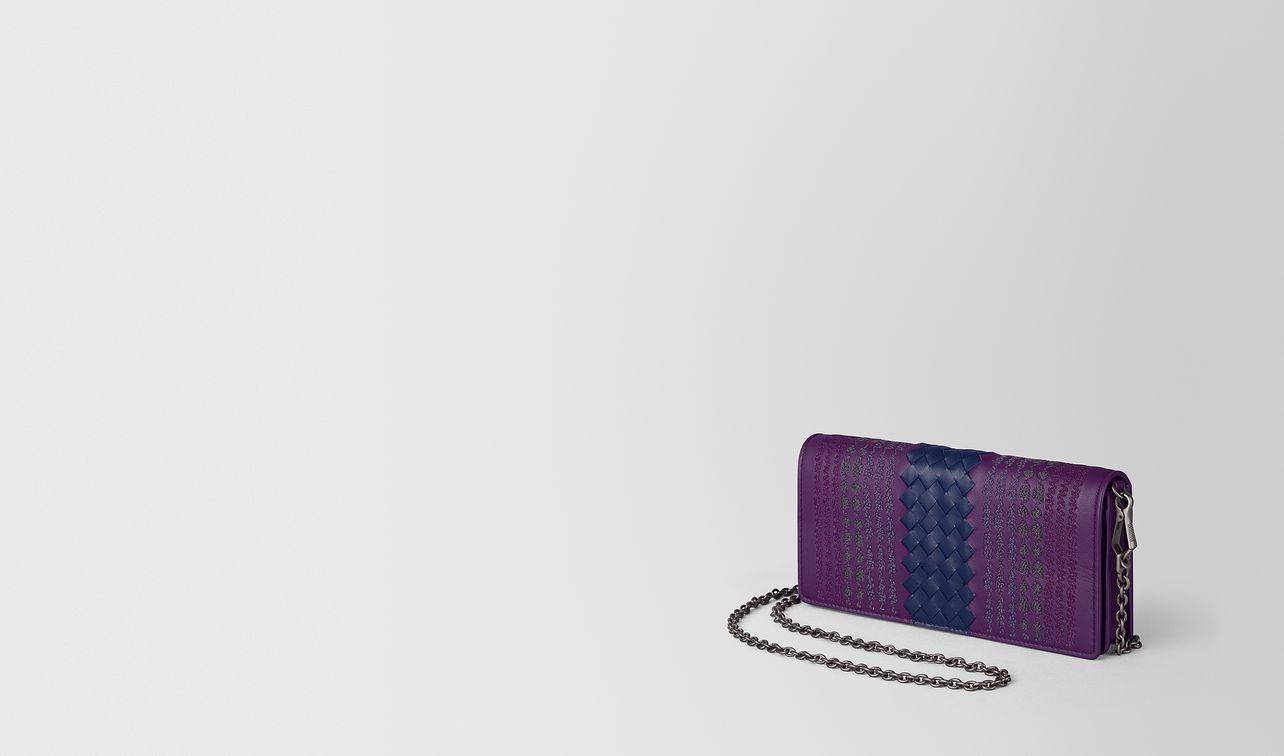 monalisa intrecciato appia chain wallet landing