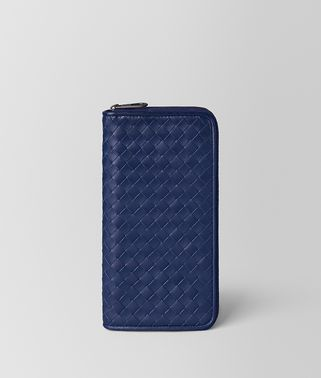 ATLANTIC INTRECCIATO VN ZIP AROUND WALLET