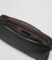 BOTTEGA VENETA NERO/CEMENT BUTTER CALF SMALL SOFTDOC Document case Man dp