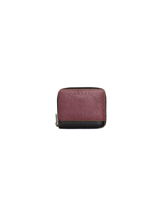 Marni Wallet in Saffiano calfskin with zipper Man - 1