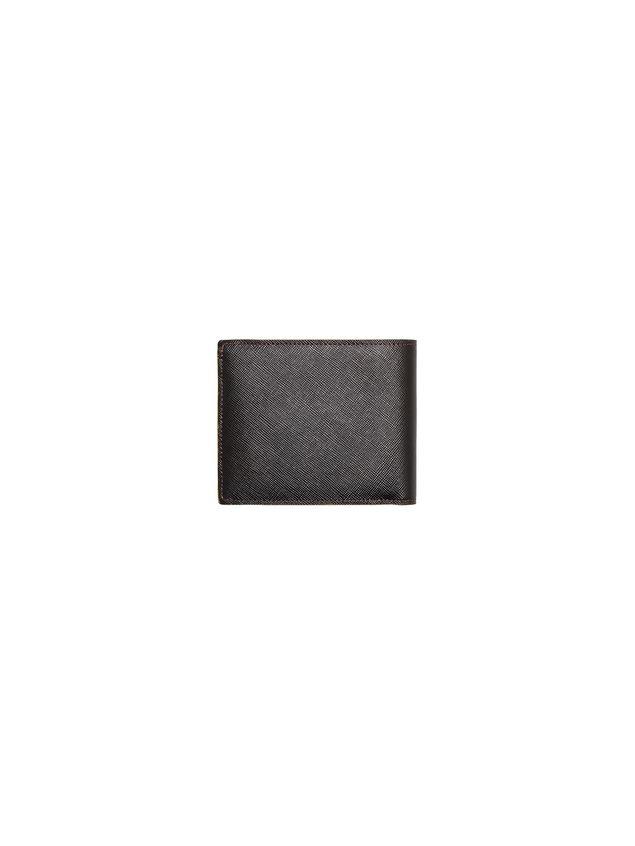 Marni Bi-fold wallet in Saffiano calfskin Man