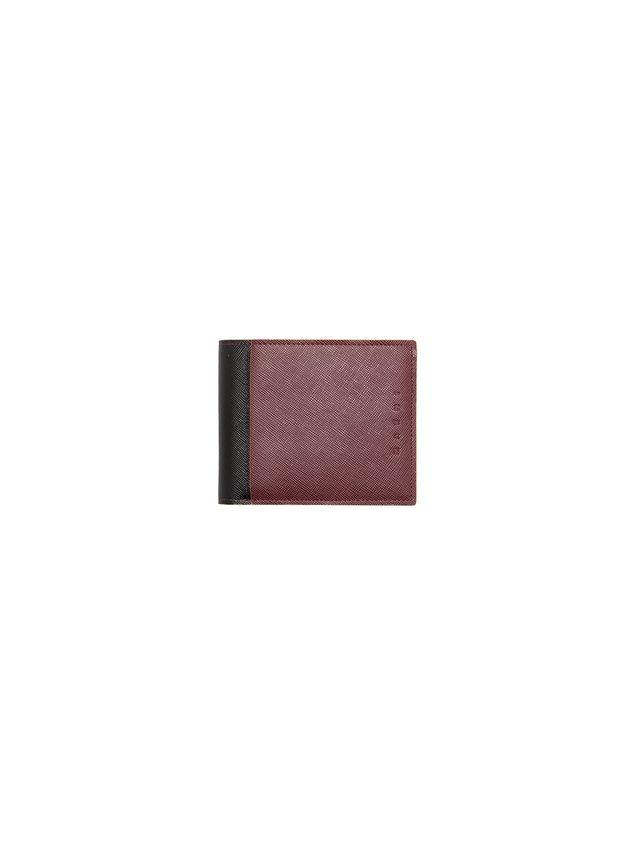 Marni Bi-fold wallet in Saffiano calfskin Man - 1