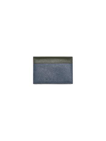 Marni Tri-fold wallet in Saffiano calfskin Man f