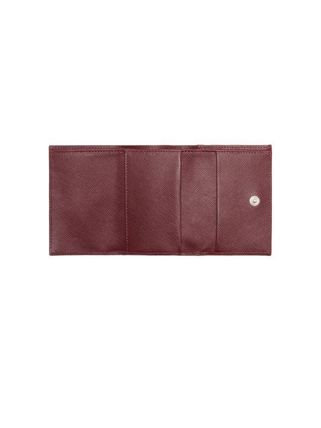 Marni Tri-fold wallet in Saffiano calfskin Man - 4