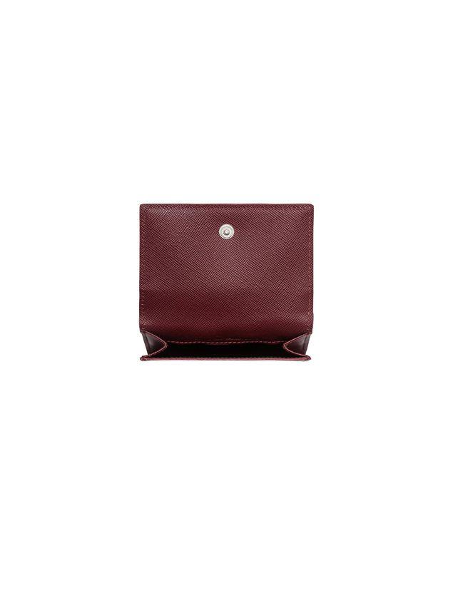 Marni Tri-fold wallet in Saffiano calfskin Man - 2