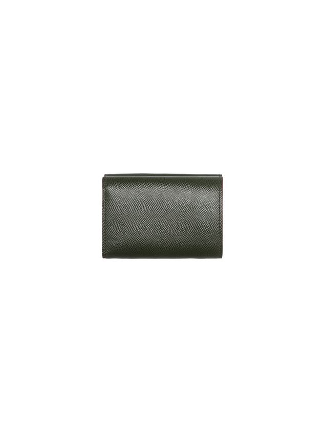 Marni Tri-fold wallet in Saffiano calfskin Man - 3