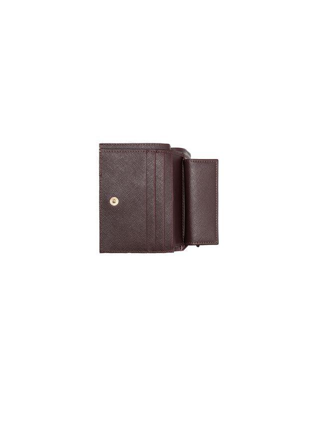 Marni Bi-fold wallet in Saffiano calfskin Woman - 2