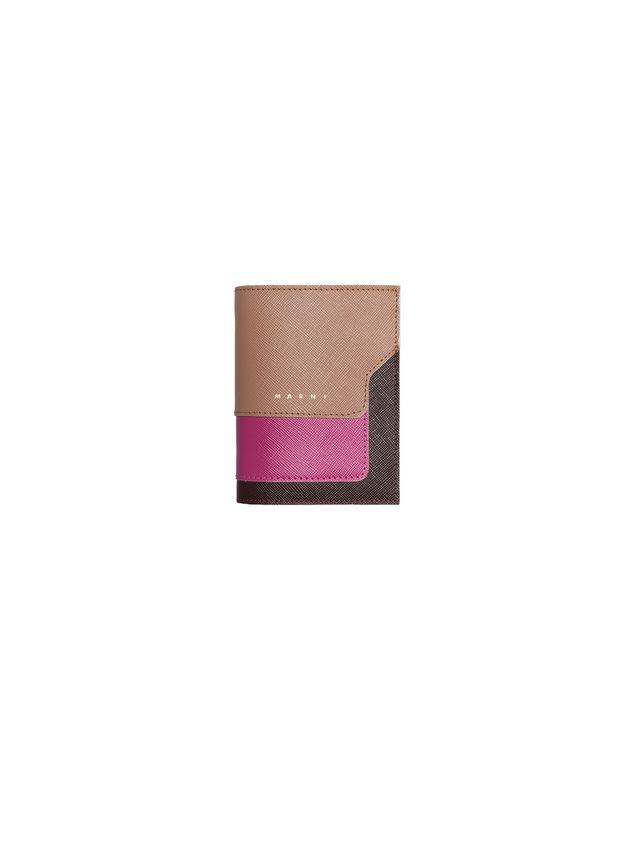 Marni Bi-fold wallet in Saffiano calfskin Woman - 1