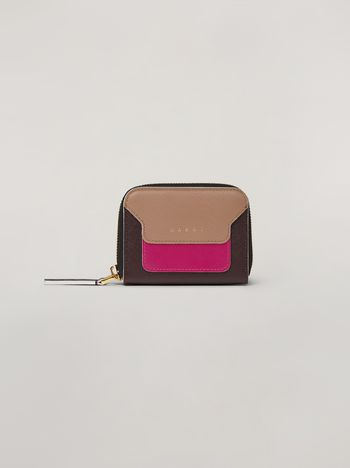 Marni Coin purse in saffiano calfskin Woman