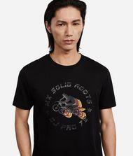 KARL LAGERFELD T-Shirt im Motocross-Look 9_f