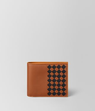 MULTICOLOR INTRECCIATO CHECKER WALLET
