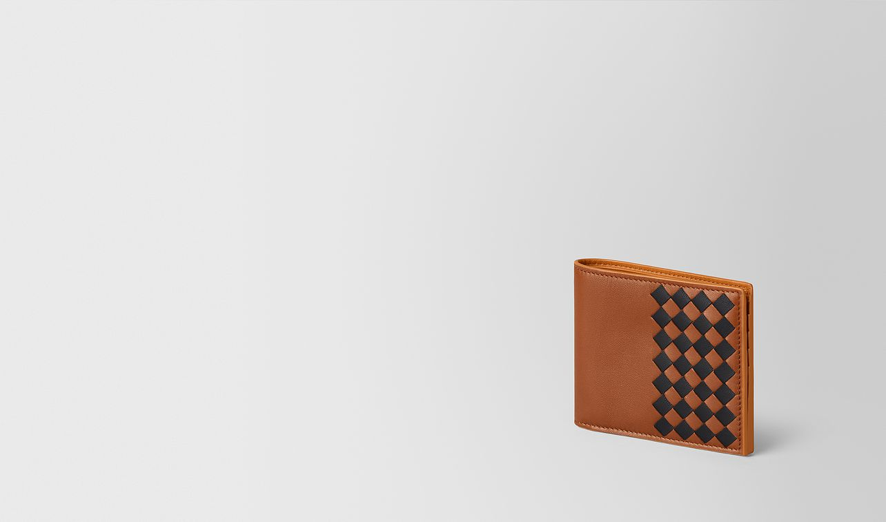 multicolor intrecciato checker wallet landing