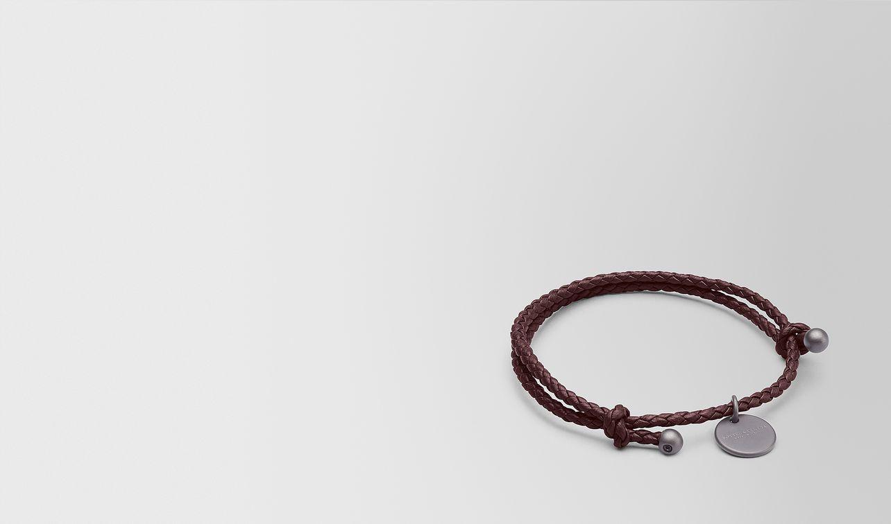 dark barolo intrecciato nappa bracelet landing
