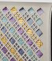 multicolor intrecciato stained glass chain wallet Back Detail Portrait
