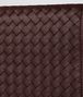 dark barolo intrecciato nappa chain wallet Back Detail Portrait