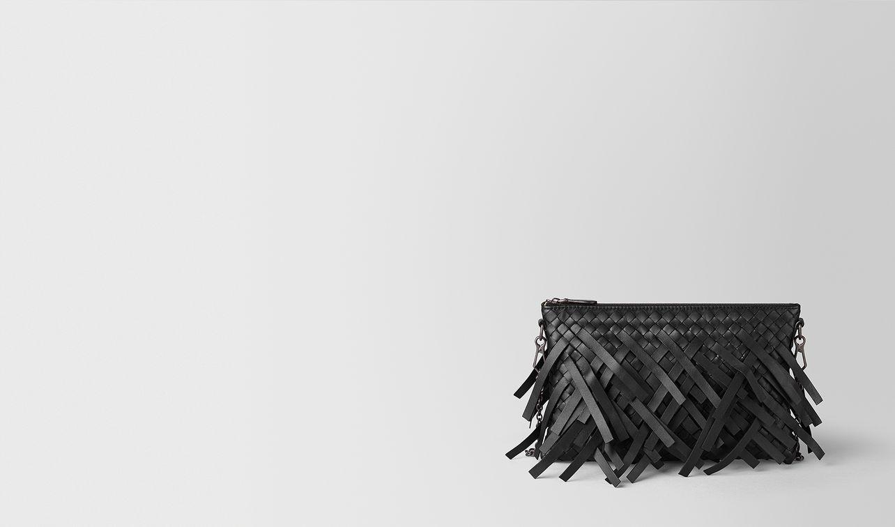 nero intrecciato fringe biletto chain landing