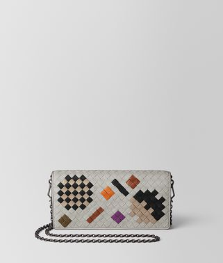 CEMENT INTRECCIATO ABSTRACT CHAIN WALLET