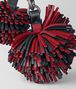 BOTTEGA VENETA CHINA RED NAPPA POM-POM Keyring or Bracelets E rp