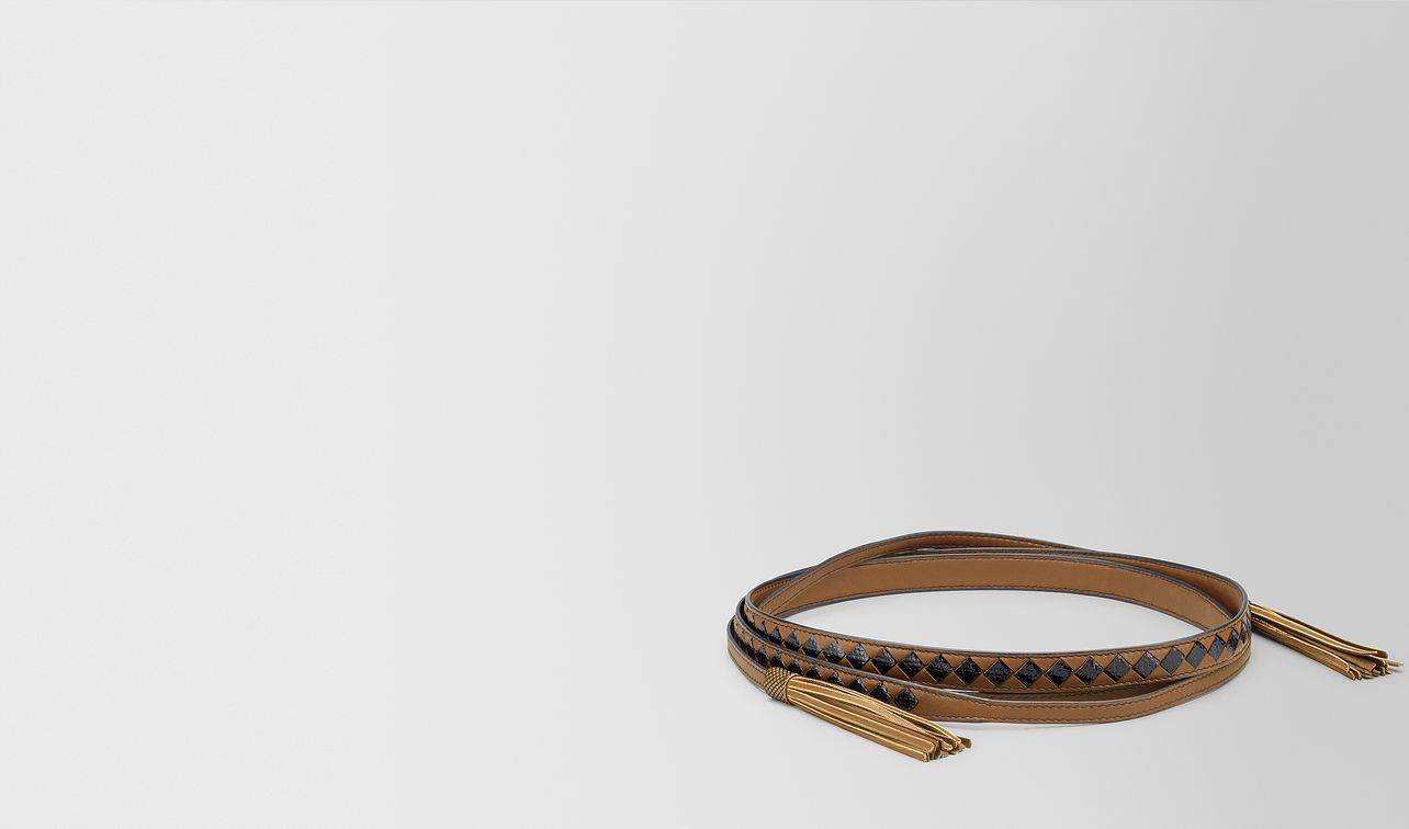 camel/nero nappa/karung belt landing