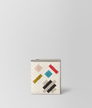 MIST INTRECCIATO ABSTRACT MINI WALLET