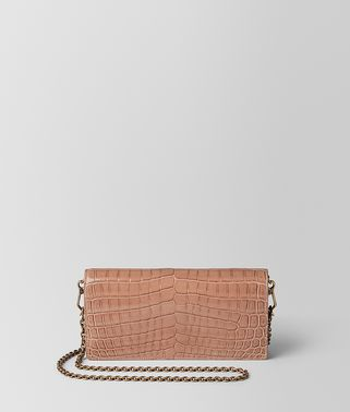 DAHLIA CROCODILE CHAIN WALLET