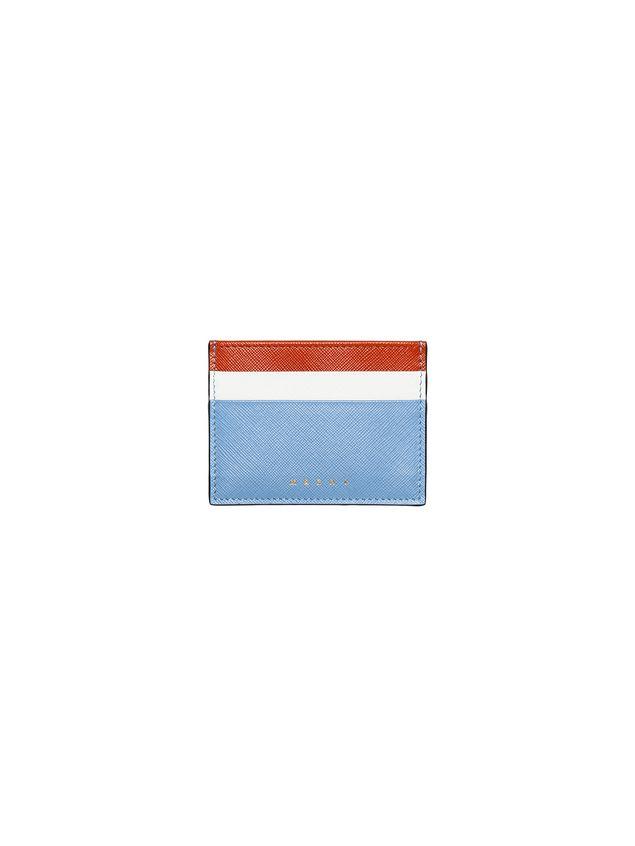 Marni Credit card case in saffiano leather Woman - 1