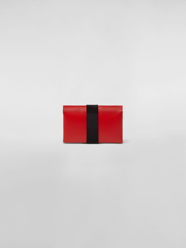 Marni Wallet in PVC with logo red Man - 3