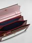 Marni Bellows wallet in pink, white and burgundy saffiano leather  Woman - 2
