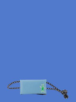 Marni Wallet in pale blue nylon  Man