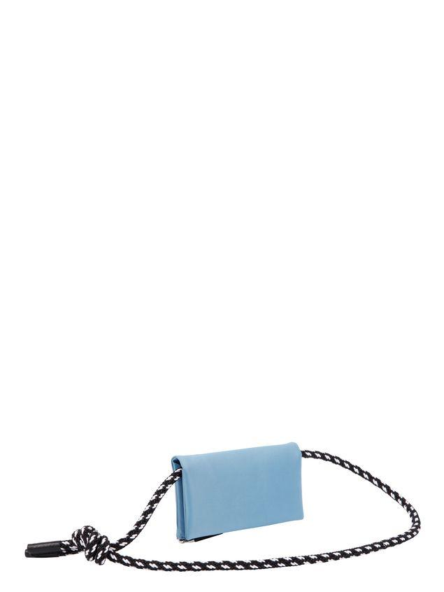 Marni Wallet in pale blue nylon  Man - 3