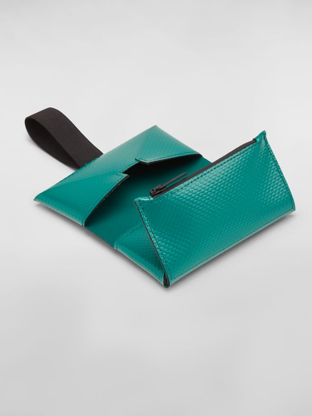 Marni Wallet in PVC with logo green Man - 5