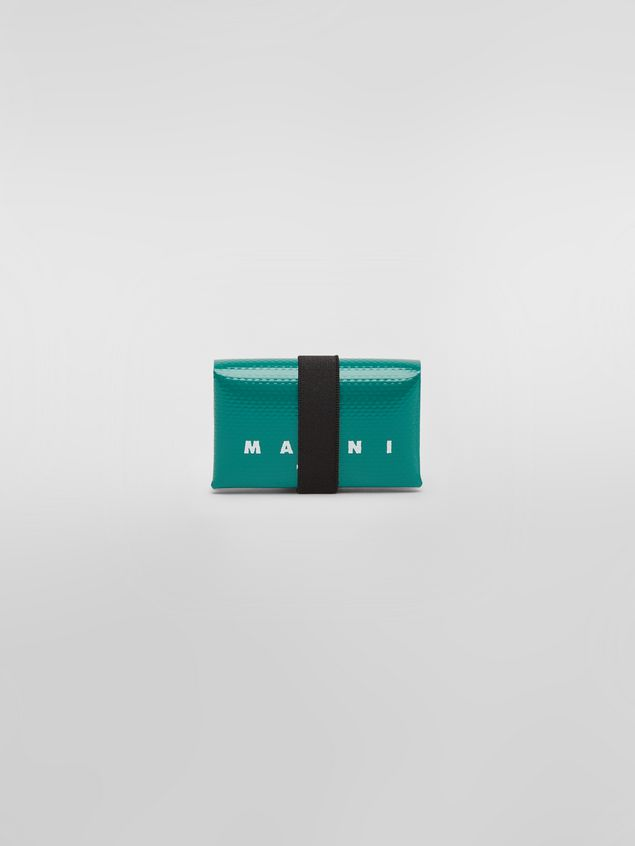 Marni Wallet in PVC with logo green Man - 1