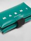 Marni Wallet in PVC with logo green Man - 4