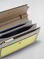 Marni Brieftasche mit Balgen aus Saffiano-Leder in Gelb, Hellbraun und Grau Damen - 2