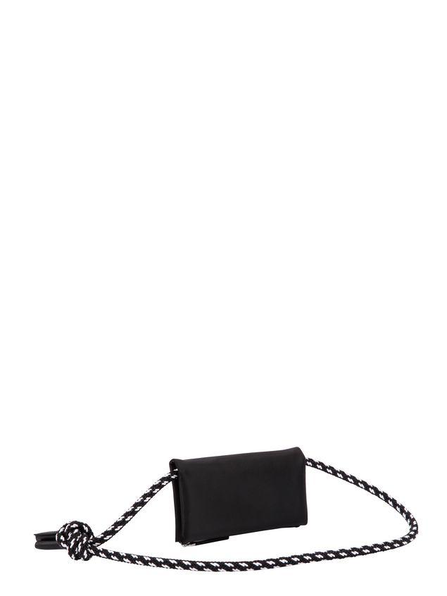Marni Wallet in black nylon  Man
