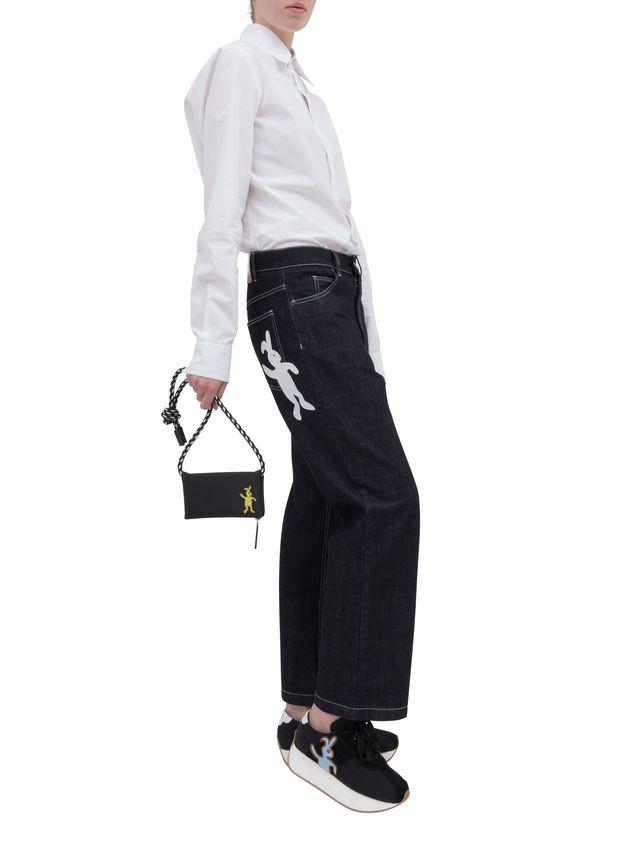 Marni Wallet in black nylon  Man - 5