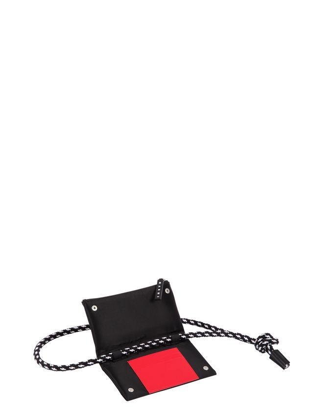 Marni Wallet in black nylon  Man - 4