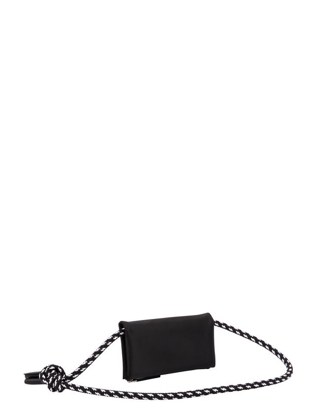 Marni Wallet in black nylon  Man - 3