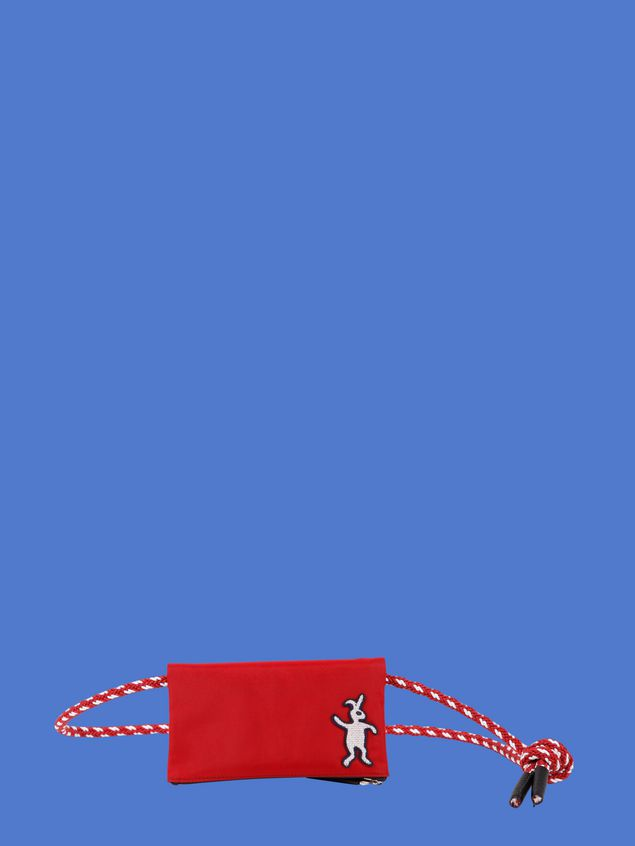 Marni Wallet in red nylon  Man - 1