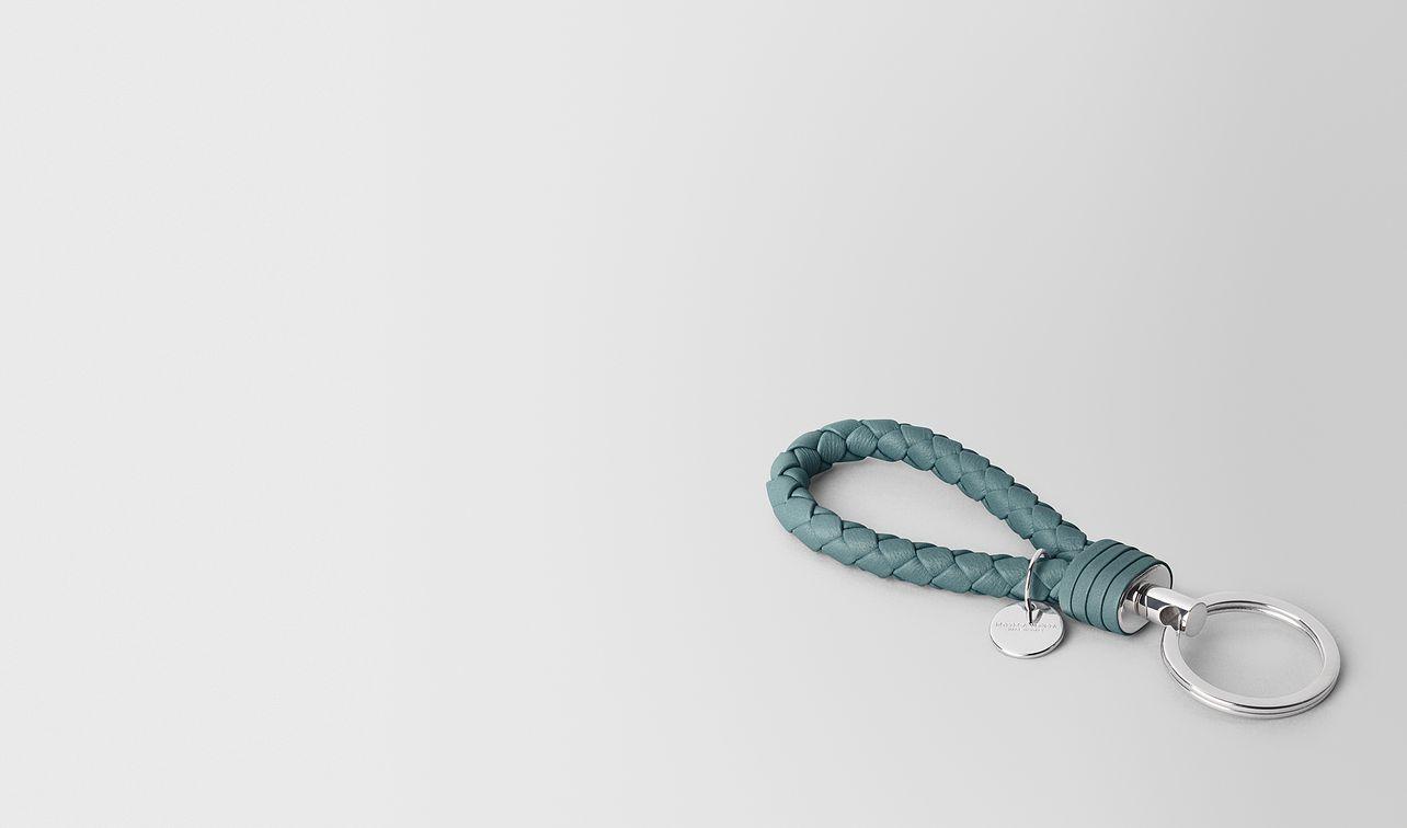 key ring in intrecciato nappa  landing